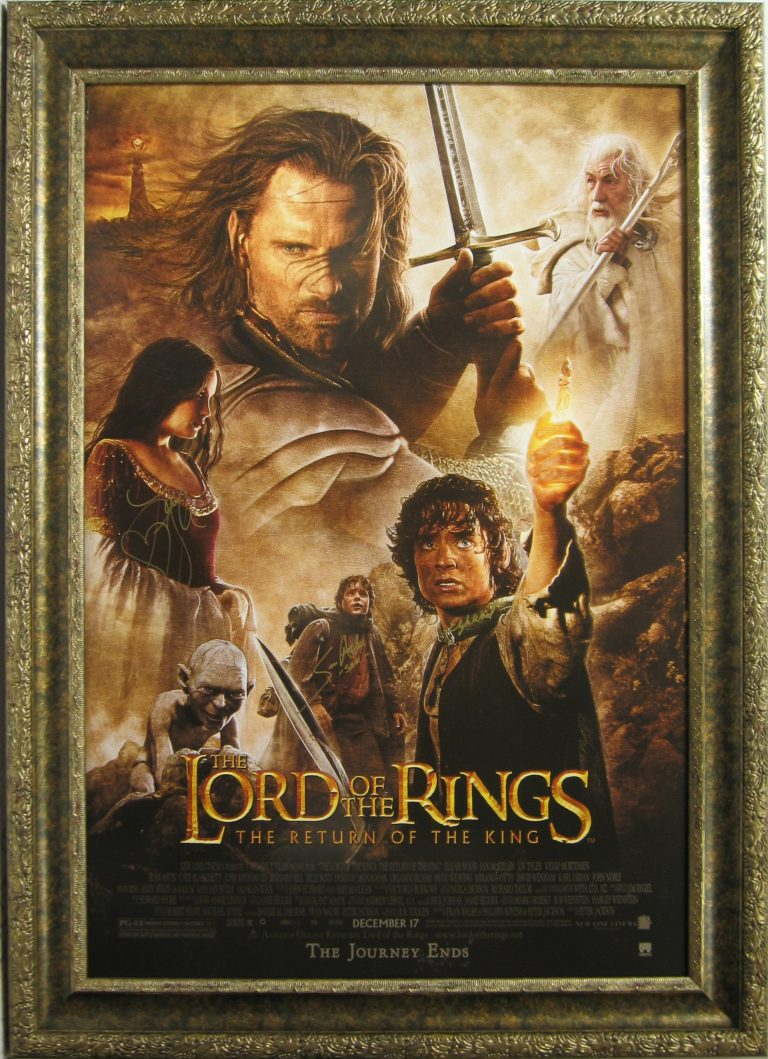 movie poster framing examples
