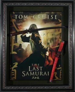 tom cruise last samurai poster frames