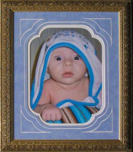 framed baby photos csd