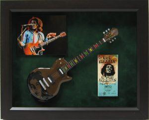 bob marley mini guitar