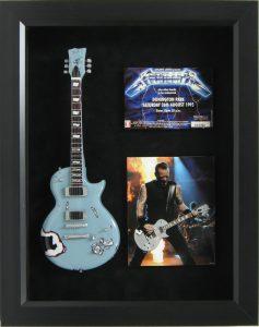 metallica mini guitar