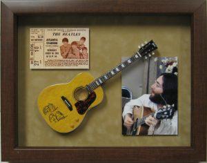 john lennon beatles mini guitar