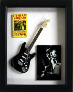 stevie ray vaughn mini guitar