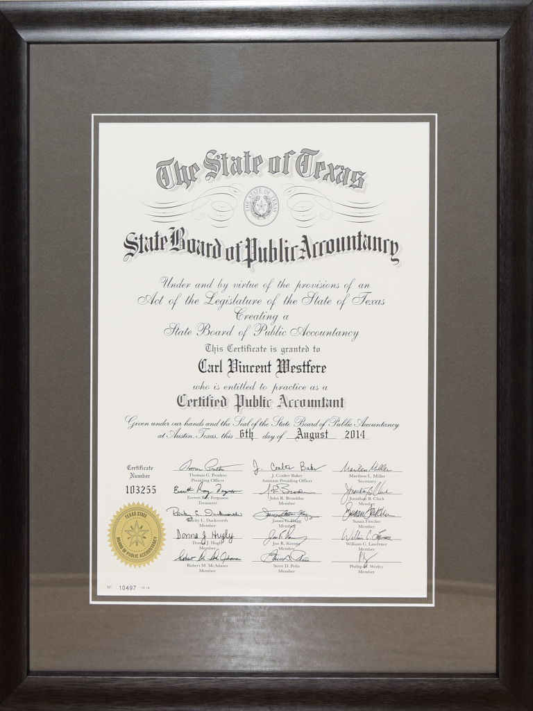 Diploma Gallery Csd Custom Framing